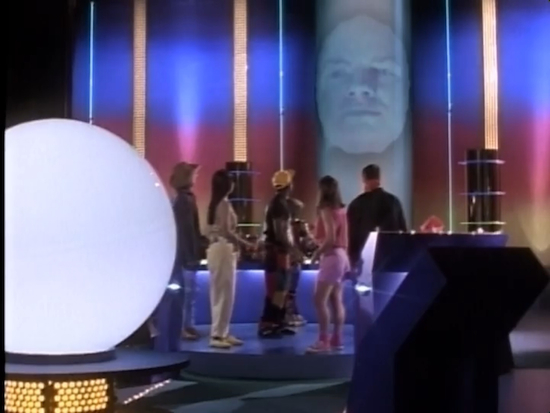 """Behold the giant snow globe!"" - Zordon, Professional Talking Head"