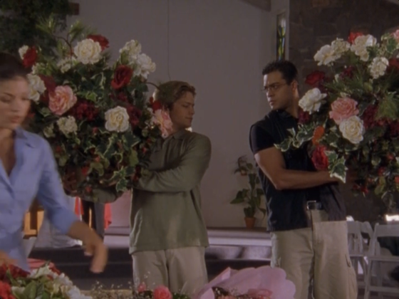 """MY flowers are prettier."" – Boyfriend ""WE COULD BE HEEEEROES"" – Danny"