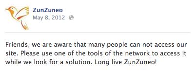 ZunZuneo Facebook